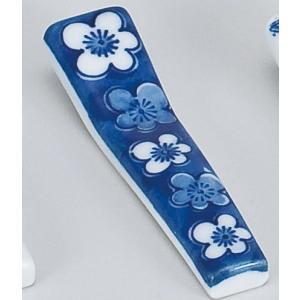 〔箸置 美濃焼〕梅バチ型 箸置 2個組|itibei