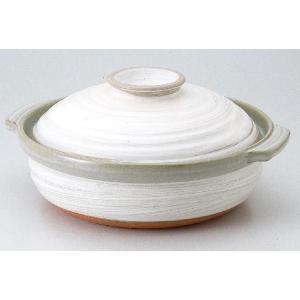 IH対応土鍋 ばん古焼 / 銀峯粉吹IH対応9.0深鍋|itibei