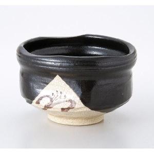 〔茶道具〕 黒織部茶碗(成起窯)(木)|itibei