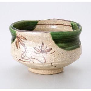 〔茶道具〕 織部茶碗(成起窯)(木)|itibei