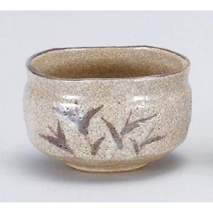 〔茶道具〕 志野茶碗 (加美窯) (木)|itibei