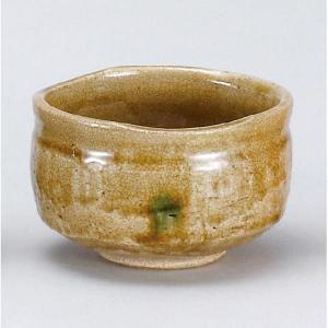 〔茶道具〕 黄瀬戸茶碗 (加美窯) (木)|itibei
