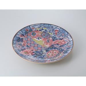 〔萬古焼盛込皿〕 てまり 10.0大皿 itibei