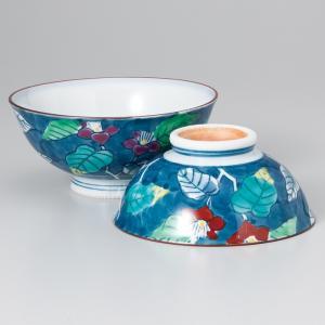 〔飯碗 有田焼〕 錦つゆ草茶漬(大・小セット) itibei