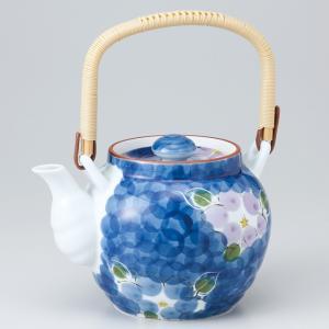 〔急須・ポット 有田焼〕 ダミ二色山茶花8号土瓶(M) itibei