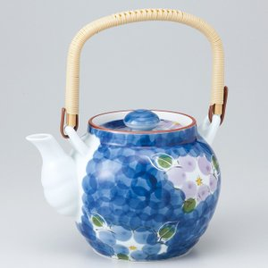 〔急須・ポット 有田焼〕 ダミ二色山茶花6号土瓶(M) itibei