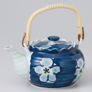 〔急須・ポット 有田焼〕 白梅4号土瓶(M)|itibei
