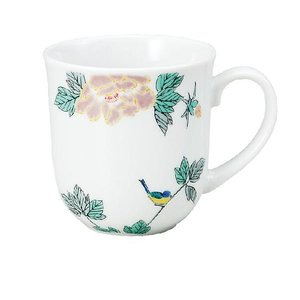 〔九谷焼〕 マグカップ・小鳥|itibei