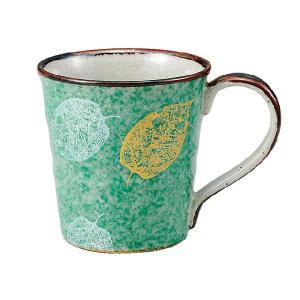 〔九谷焼〕 マグカップ・葉紋|itibei