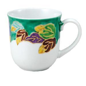 〔九谷焼〕 マグカップ・木の葉|itibei