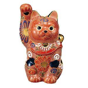 〔九谷焼〕 4号招き猫・盛|itibei