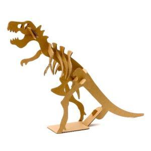〔ダンボール工作〕ティラノサウルス (10個入)|itibei