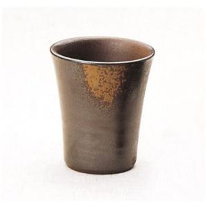 〔フリーカップ 備前焼〕 陶峰窯 胡麻焼 フリーカップ|itibei