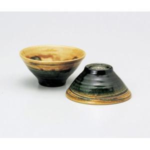 〔飯碗 瀬戸焼〕 陶房淳 織部 組飯碗|itibei