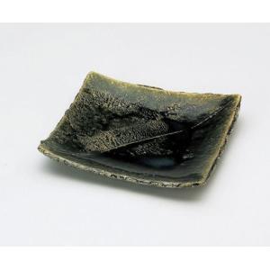 〔和皿・洋皿 瀬戸焼〕 陶房淳 織部 角皿|itibei