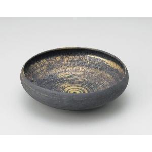〔和皿・洋皿 有田焼〕 陶悦窯 結晶金彩 7号鉄鉢|itibei