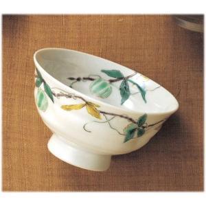 〔飯碗 九谷焼〕 晄窯 風船かずら飯碗(小)|itibei