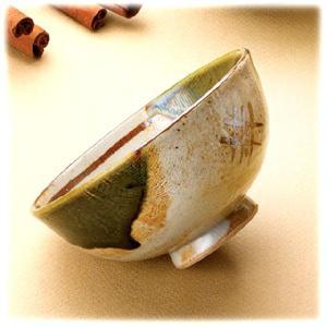 〔飯碗 瀬戸焼〕 静山窯 織部 飯碗|itibei