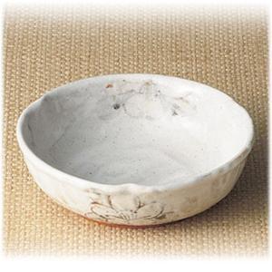 〔和皿・洋皿 瀬戸焼〕 秀峰窯 志野野の花 平鉢|itibei
