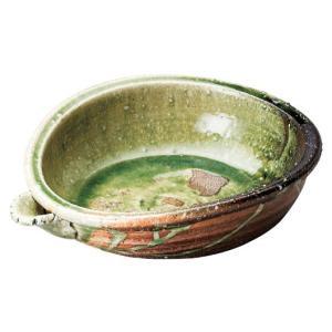 〔信楽焼 皿・鉢〕 しんにょ窯 古紫香楽 たわみ片口鉢|itibei