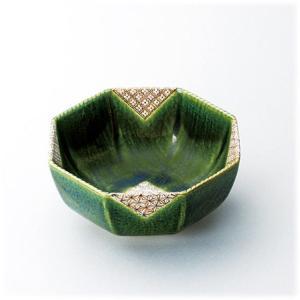 〔和皿・洋皿 赤津焼〕 松山窯 織部小紋 八角盛鉢|itibei