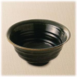 〔飯碗 瀬戸焼〕 陶翠窯 織部 茶漬碗|itibei