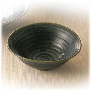 〔和皿・洋皿 瀬戸焼〕  陶翠窯 織部 小鉢|itibei