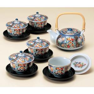〔波佐見焼 蓋物〕 聖栄焼 茶托付蓋付茶器|itibei