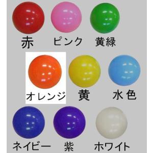 〔バルーン〕 40cm 風船バレー オレンジ (5枚入り)〔ふうせんバレー〕|itibei|03