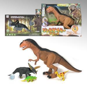 大恐竜セット2 ラジコン&フィギュア / クリスマスプレゼント / 福袋 / 男の子おもちゃ|itibei