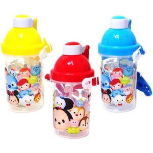 【景品玩具】ディズニーツム柄水筒 ストローホッパー 12入り 3柄アソ-ト ギフトは個別包装でお届け|itibei