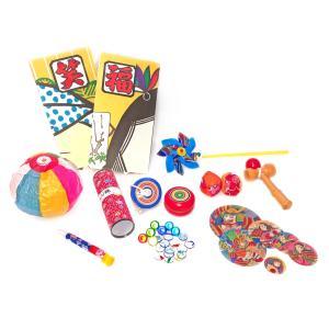 〔和玩具〕 昔遊びセット(12種取り揃え) / あすつく対応|itibei