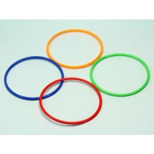 輪投げの輪(20本) プラスティック製  外径135mm  〔射的・輪投げ遊びセット〕|itibei