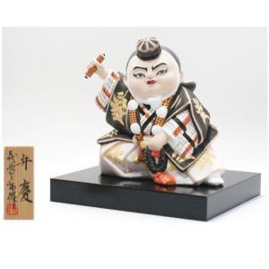 わらべ歌舞伎人形 弁慶 / 歌舞伎 博多人形|itibei