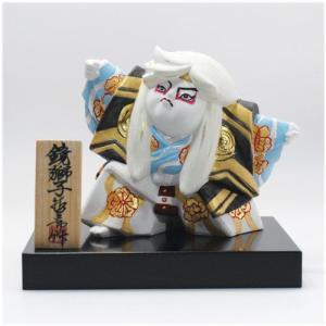 わらべ歌舞伎人形 鏡獅子 / 歌舞伎 博多人形|itibei