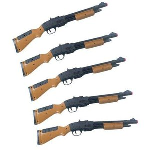 射的 ライフル 吸盤式 5本セット 〔射的・輪投げ遊びセット〕|itibei