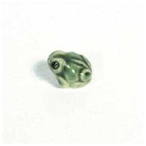 〔信楽焼 置物〕 豆蛙 オリベ|itibei