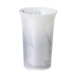 〔フリーカップ 九谷焼〕 宗秀窯 釉裏銀彩椿 フリーカップ(バイオレット)|itibei