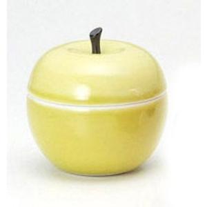 〔テーブル小物 波佐見〕 青りんご キャンディーボックス|itibei