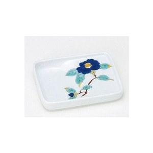 〔和皿・洋皿 有田〕 長角型味わい皿 青椿 5個組|itibei