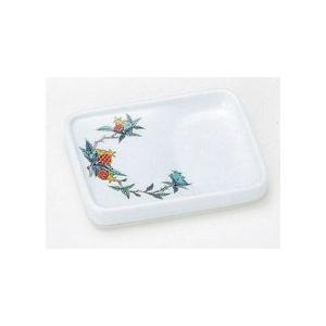 〔和皿・洋皿 有田〕 長角型味わい皿 丸ざくろ 5個組|itibei
