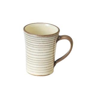 〔マグカップ 小石原焼〕 柳瀬 トチリ マグカップ 2個組|itibei