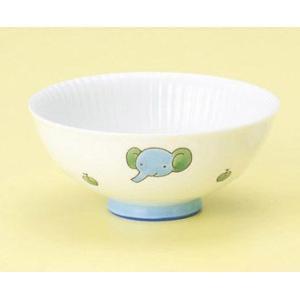 〔子供用食器 有田〕 ぞう ごはんがつきにくい飯碗 5個組|itibei