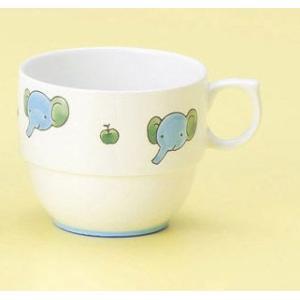 〔子供用食器 有田〕 ぞう テーブルにやさしいスープカップ 3個組|itibei
