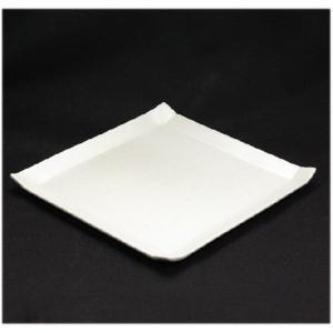 〔和皿・洋皿 美濃焼〕 こより 角大皿(白) 1枚 〔即納商品〕|itibei|02