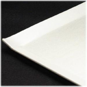 〔和皿・洋皿 美濃焼〕 こより 角大皿(白) 1枚 〔即納商品〕|itibei|03