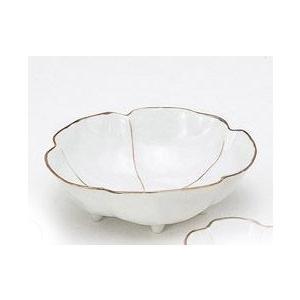 〔小付・鉢 有田焼〕 花想い 新香鉢(朱) 3個組|itibei