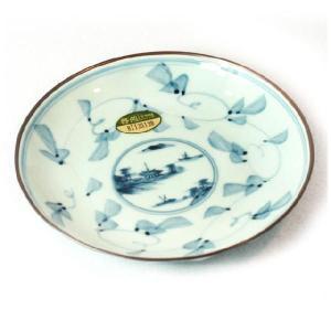 〔和皿・洋皿 有田焼〕 時代山水 銘々皿 5個組|itibei
