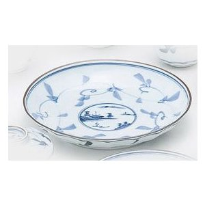 〔和皿・洋皿 有田焼〕 時代山水 和皿 5個組|itibei