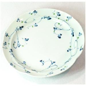 〔和皿・洋皿 波佐見焼〕 清風唐草 和皿 5個組|itibei